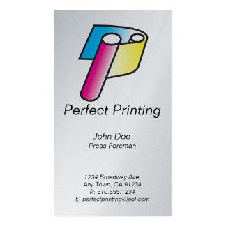 Impresoras y impresión de Lithographers_Perfect Tarjetas De Visita