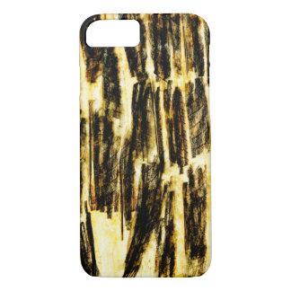 Impressed Mango Leaf Abstract iPhone 8/7 Case