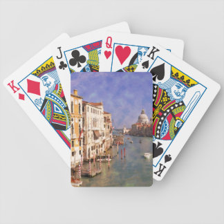 ImpressiItaly Venice Canal Grande Bicycle Playing Cards