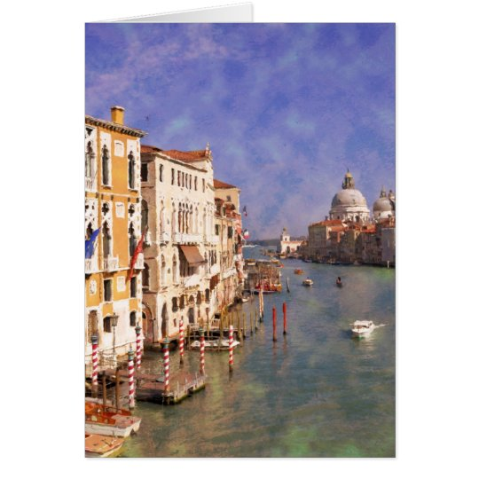 ImpressiItaly Venice Canal Grande Card