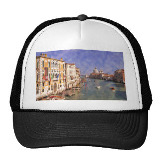 ImpressiItaly Venice Canal Grande Trucker Hat
