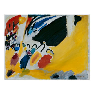 Impression III (Concert) by Wassily Kandinsky Poster