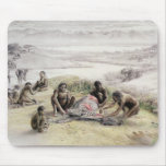 Impression of a camp occupied by Homo habilis Mouse Pad
