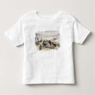 Impression of a camp occupied by Homo habilis Toddler T-shirt