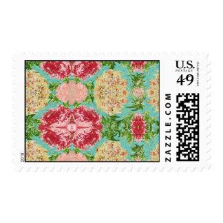 Impression of a Tea Rose Stamp