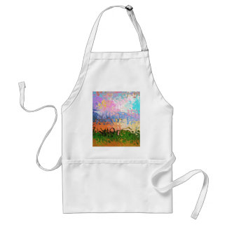 Impression Of Abstraction Abstract Design Adult Apron