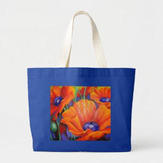 Impression Of Orange Canvas Bags