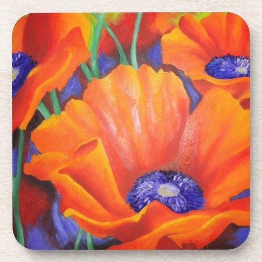 Impression Of Orange Coaster