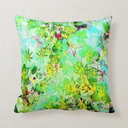Impression of Spring Garden Art Photo Reversible Pillows