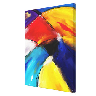 """Impression on fabric, small size, """"SUNSET """" Canvas Print"""
