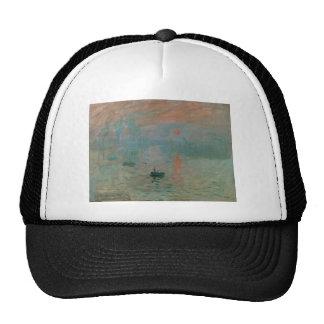 Impression, Soleil Levant by Claude Monet 1872 Mesh Hat