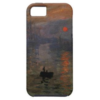 Impression Sunrise by Claude Monet, Vintage Art iPhone SE/5/5s Case