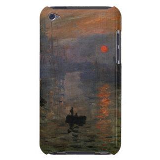 Impression Sunrise by Claude Monet, Vintage Art iPod Case-Mate Case