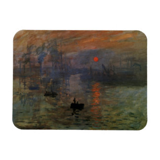 Impression Sunrise by Claude Monet, Vintage Art Magnet