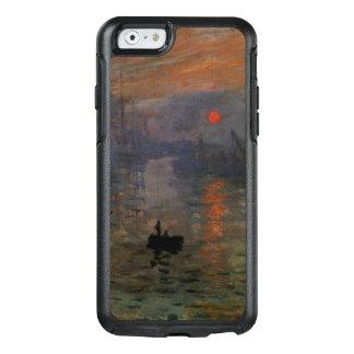 Impression Sunrise by Claude Monet, Vintage Art OtterBox iPhone 6/6s Case
