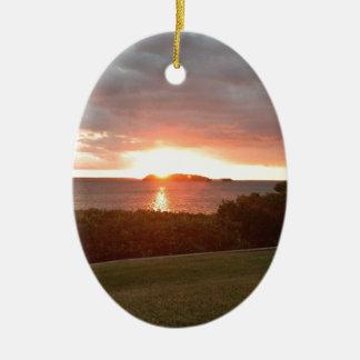 Impression Sunrise Ceramic Ornament