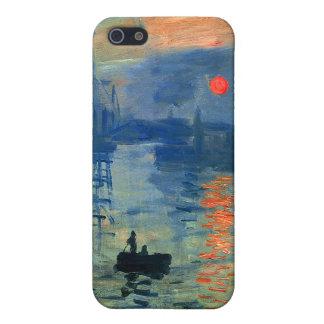 Impression Sunrise, Soleil Levant, Claude Monet iPhone SE/5/5s Cover