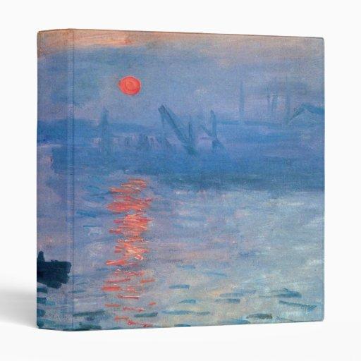 Impression Sunrise Vinyl Binders