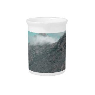 Impression with Fog,Madeira Drink Pitcher