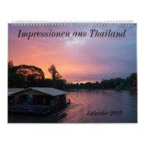 Impressionen from Thailand Calendar