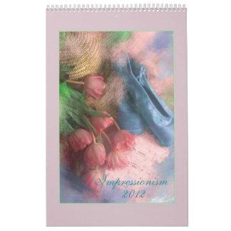 Impressionism 2013 wall calendars