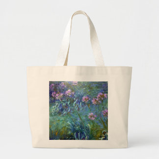 Impressionism Agapanthus Flowers Bag