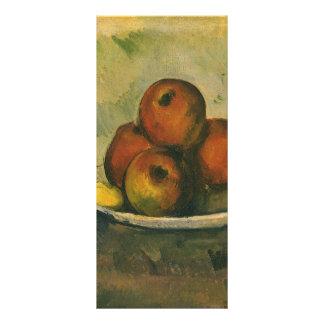 Impressionism Art, Still Life w Apples by Cezanne Personalized Rack Card