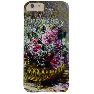 Impressionism Beautiful Flowers in a Gold Pot Barely There iPhone 6 Plus Case