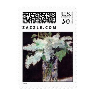 Impressionism Bouquet of Lilacs Postage