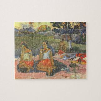 Impressionism by Gauguin, Delightful Drowsiness Jigsaw Puzzle