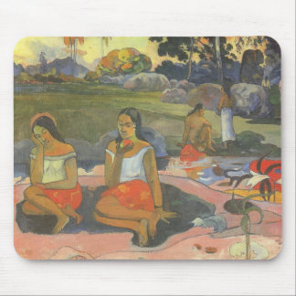 Impressionism by Gauguin, Delightful Drowsiness Mouse Pad