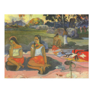 Impressionism by Gauguin, Delightful Drowsiness Postcard