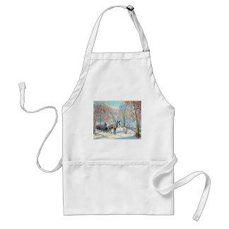 Impressionism | Fall Harvest Adult Apron
