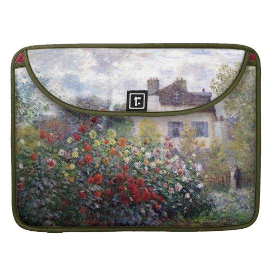 Impressionism Flower Garden Rickshaw Flap Sleeve
