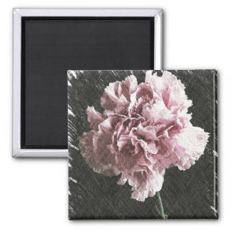 impressionism mother's day pink carnation magnet