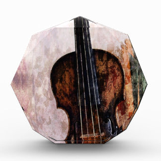 impressionism  musical instrument Fiddle Violin Acrylic Award