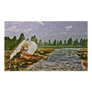 Impressionism - 'Saving Angel' Photo Print