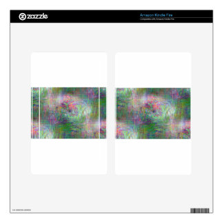 Impressionist Abstract Decal For Kindle Fire