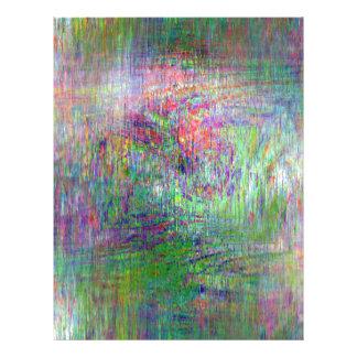 Impressionist Abstract Letterhead