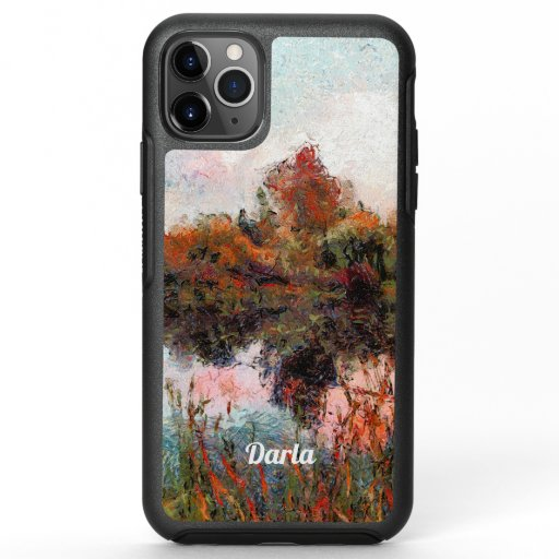 Impressionist Afternoon on a Lake OtterBox Symmetry iPhone 11 Pro Max Case