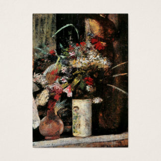 Impressionist art foral bouquet blooms by Ury Business Card
