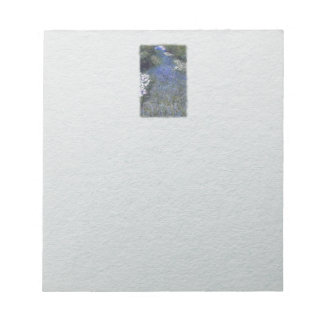 Impressionist Blue Forest Path Notepad