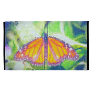 Impressionist Butterfly iPad Case