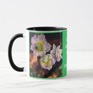 Impressionist Daffodils Mug