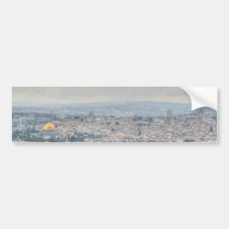 Impressionist Dome of the Rock Bumper Sticker