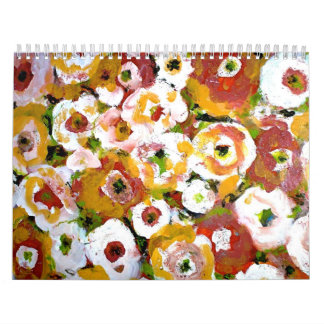 Impressionist Florals Calendar