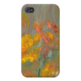 Impressionist Flowers i iPhone 4/4S Covers