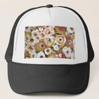 Impressionist Flowers Trucker Hat