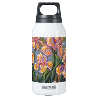 impressionist iris 10 oz insulated SIGG thermos water bottle