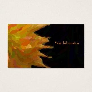 Impressionist Jennie On Black Business Cards